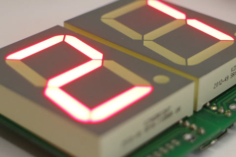 Seg-O-matic - 7-Segment LED Board