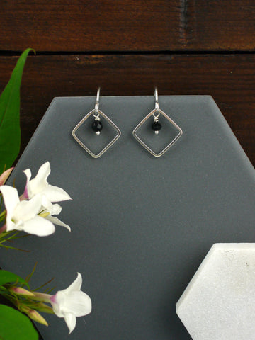 black-crystal-silver-sparkly-dangly-earrings