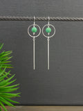 blue-chinese-turquoise-geometric-silver-bar-dangly-earrings