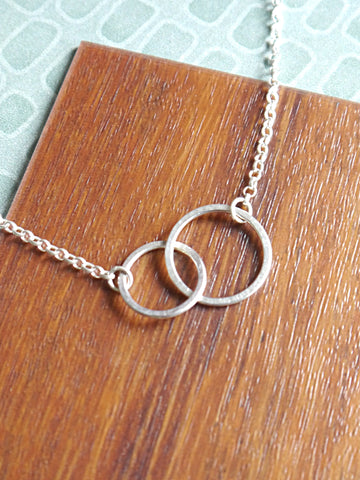 double-link-silver-necklace