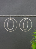 large-double-circle-statement-silver-earrings