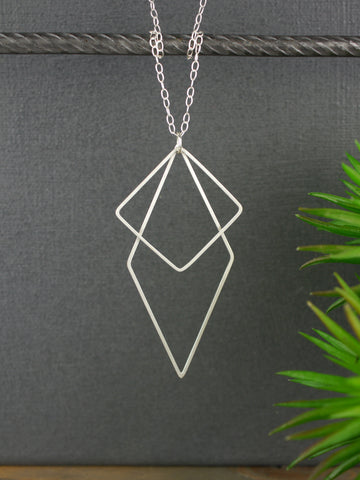 square-diamond-shaped-large-geometric-silver-jewellery-set