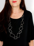 large-long-geometric-statement-silver-necklace