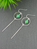 long-turquoise-silver-circle-hook-earrings