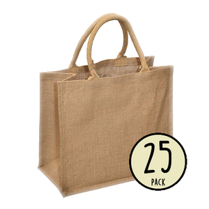 Jute Bag Large - 25 Pack (£2.28 each)