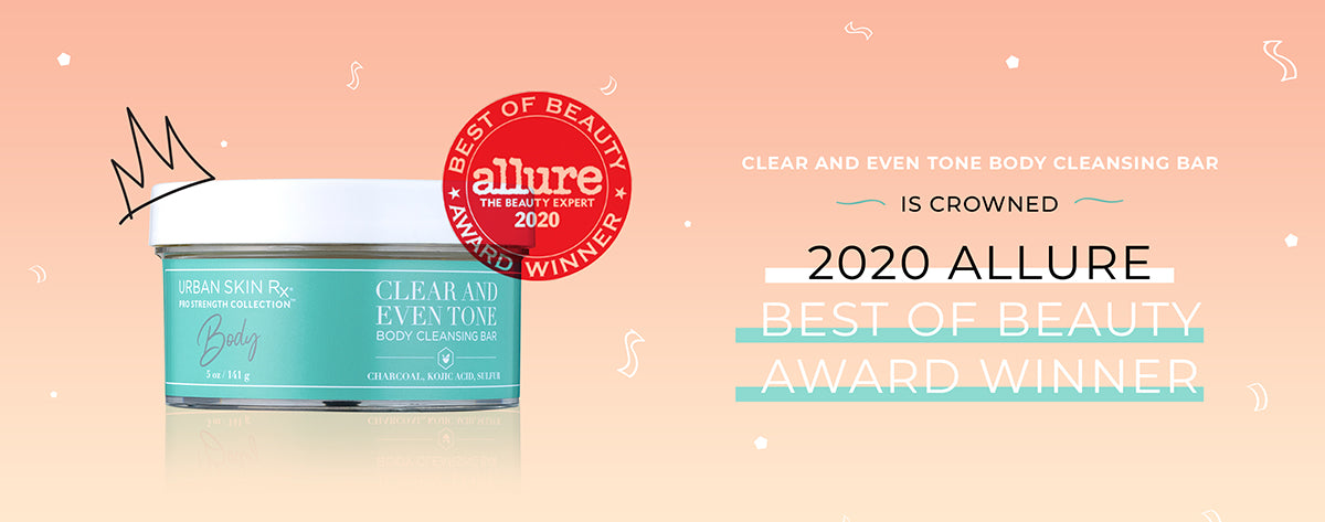 Clear and Even Tone Body Cleansing Bar