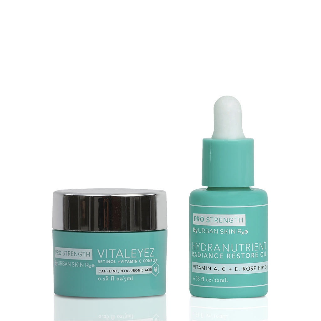 Vitaleyez + Hydranutrient Oil Mini Duo