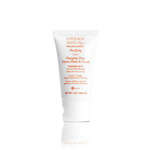 Purifying 2-in-1 Pumpkin Pore Detox Mask and Scrub 1.0 oz