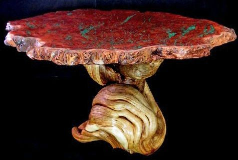 bar table at home big wood table jarrah burl table