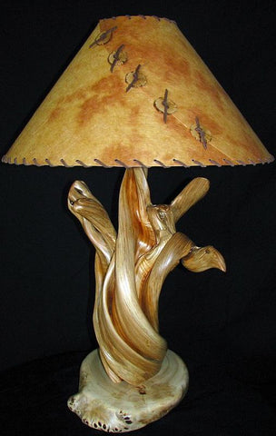 rustic lamp ideas