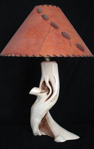 wood table lamp design