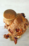 Taxidermy  Burl Pine Pedestal - Shipping Included