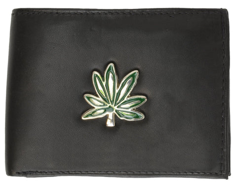Biker Pocket Fit Leather Wallet