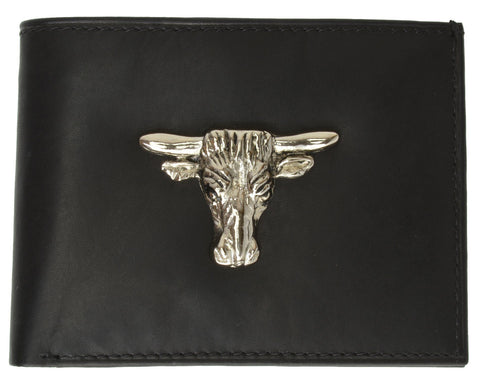 Taurus Leather Bi-fold Man Wallet