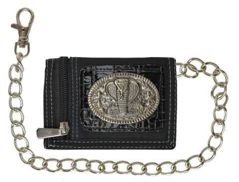 Leather Chain Wallet Assorted Styles Available