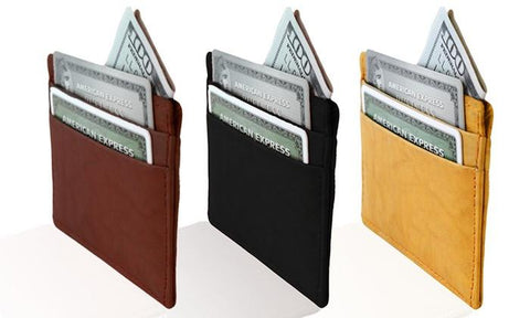 Slim Leather Wallet - WholesaleLeatherSupplier.com  - 1