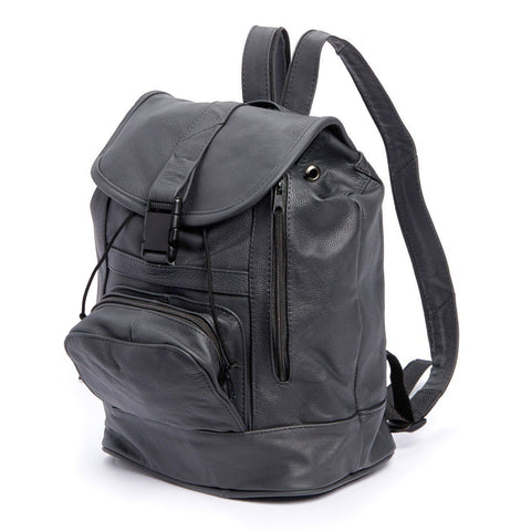 Genuine Leather Backpack with Convertible Strap Super Soft Leather