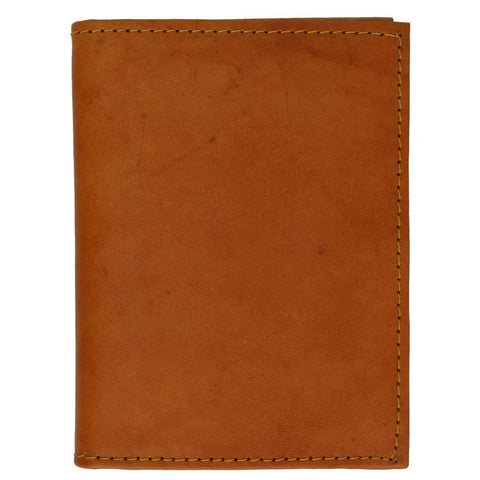 Flap Full Leather Bifold Wallet