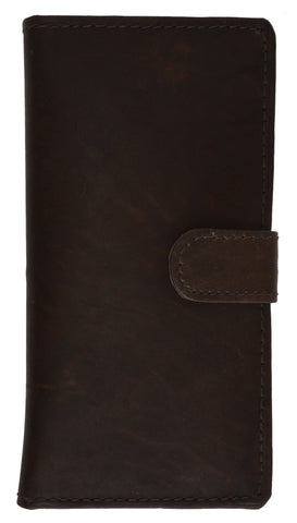Leather Credit Cards Holder Checkbook Size