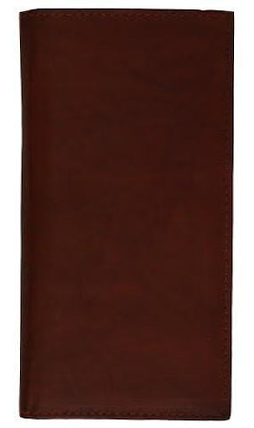 Hand Crafted Genuine Soft Leather Checkbook Cover - WholesaleLeatherSupplier.com  - 7