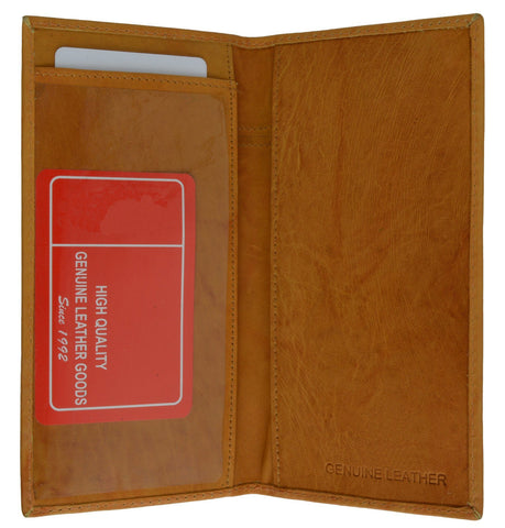 Hand Crafted Genuine Soft Leather Checkbook Cover - WholesaleLeatherSupplier.com  - 11