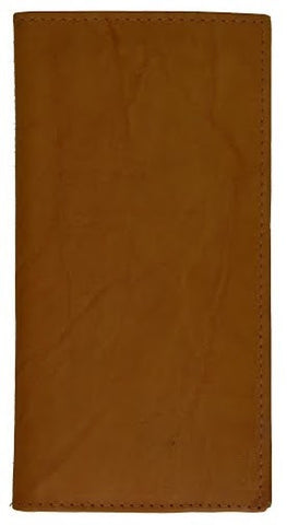 Hand Crafted Genuine Soft Leather Checkbook Cover - WholesaleLeatherSupplier.com
