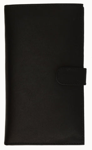Genuine Leather Credit Card Holder Tan - WholesaleLeatherSupplier.com  - 3