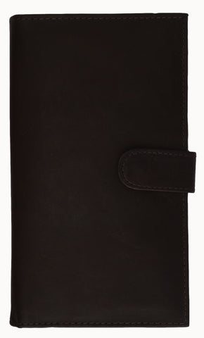Genuine Leather Credit Card Holder Brown - WholesaleLeatherSupplier.com  - 3