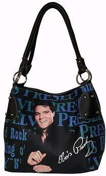 Licensed Elvis Presley Black Hobo
