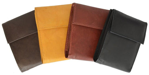 Men's Genuine Leather Bi-fold Safe Wallet - WholesaleLeatherSupplier.com  - 7