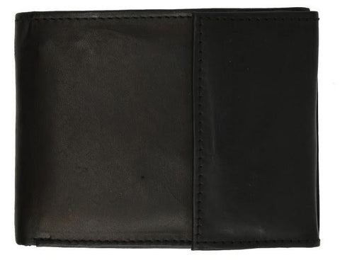 Men's Genuine Leather Bi-fold Safe Wallet - WholesaleLeatherSupplier.com  - 10
