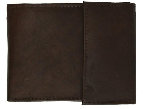 Men's Genuine Leather Bi-fold Safe Wallet - WholesaleLeatherSupplier.com  - 11