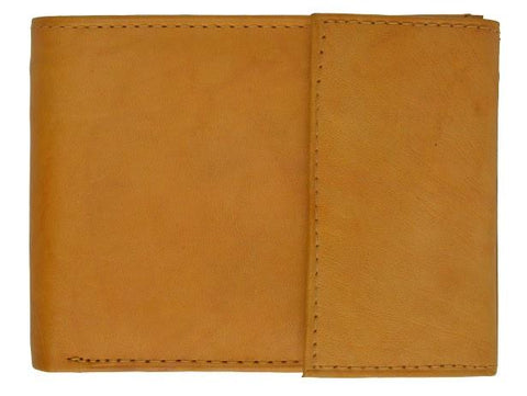 Men's Genuine Leather Bi-fold Safe Wallet - WholesaleLeatherSupplier.com  - 13