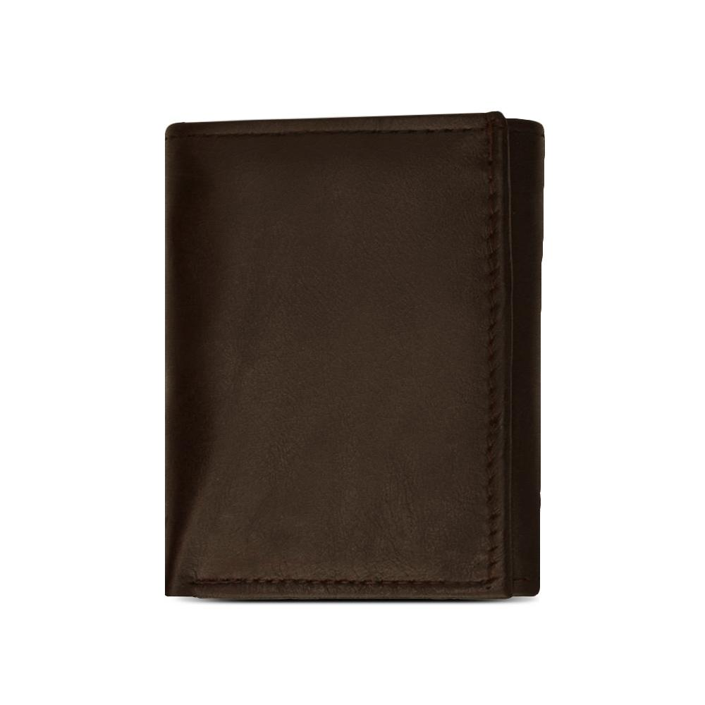 ID Flap Leather Wallet For Men