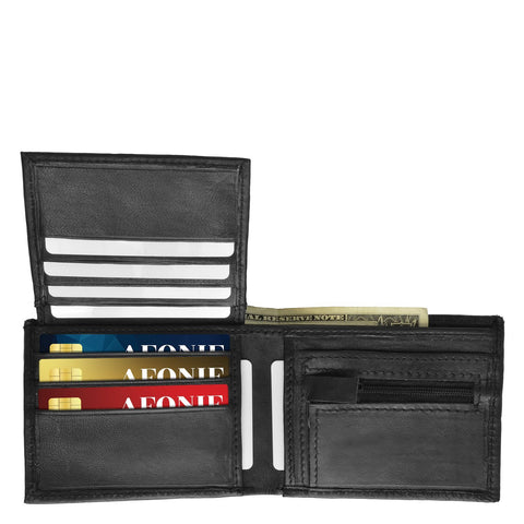 Monterrey Bi-fold Leather Wallet