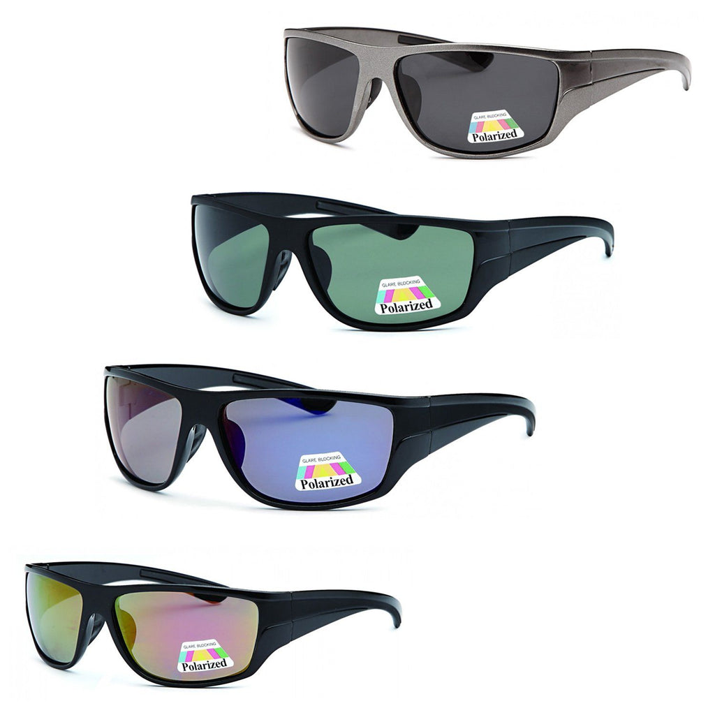 4 PACK Bold Color Polarized Lenses Sunglasses 4 Colors Pack