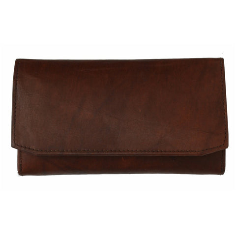 The Timeless Leather Tri-fold Women Wallet