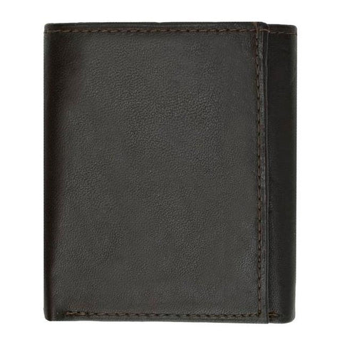 Soft Leather Trifold Wallet