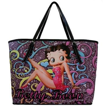 Licensed Betty Boop Large Party Handbag