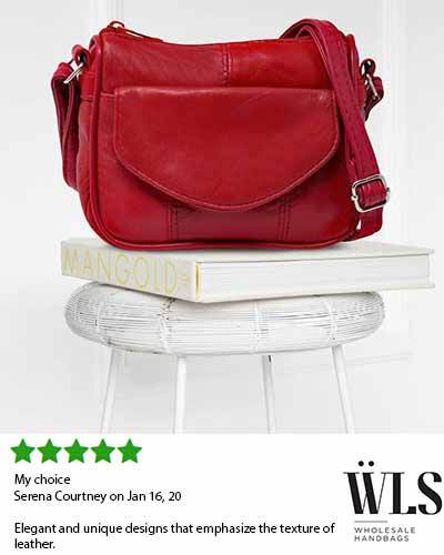 Soft Small Leather Cross body Purse for Women