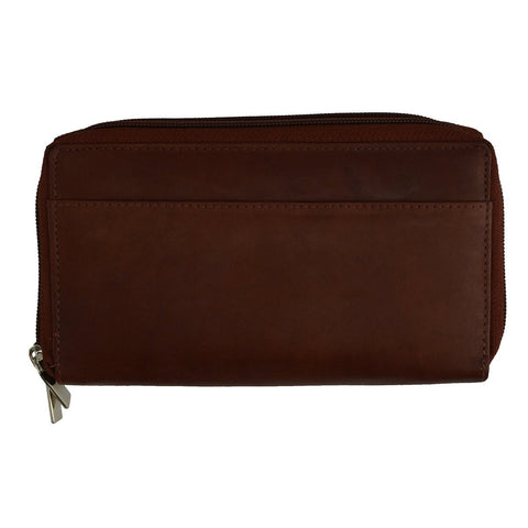 Classic Zip Around Leather Women's Wallet