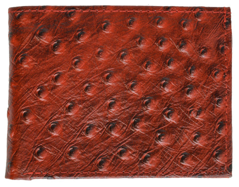 Men Leather Wallet with Hideaway Zippered Pocket - WholesaleLeatherSupplier.com  - 5