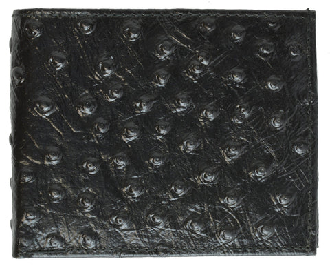 Men Leather Wallet with Hideaway Zippered Pocket