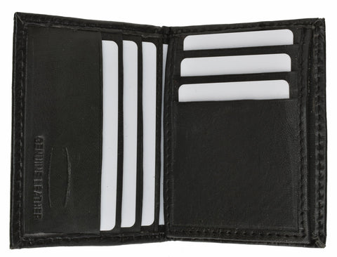 Leather Credit Card Bi-fold Wallet