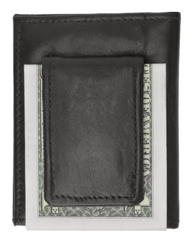 Leather Credit Card Holder and Money Clip - WholesaleLeatherSupplier.com  - 2