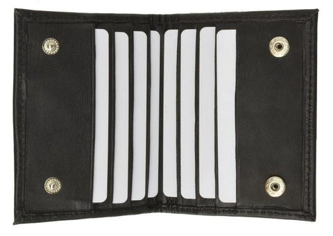 Leather Credit Card Holder and Money Clip