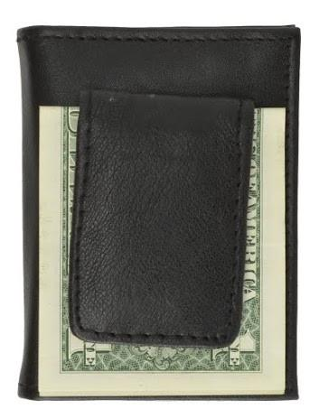 Leather Credit Card Holder and Money Clip - WholesaleLeatherSupplier.com  - 6