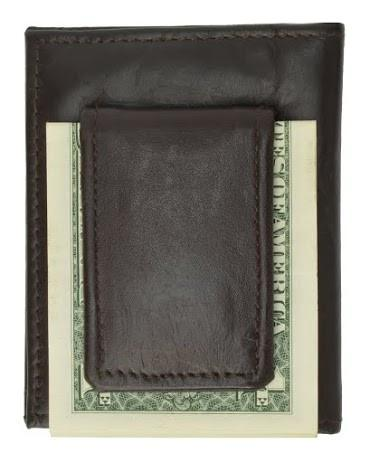 Leather Credit Card Holder and Money Clip - WholesaleLeatherSupplier.com  - 7