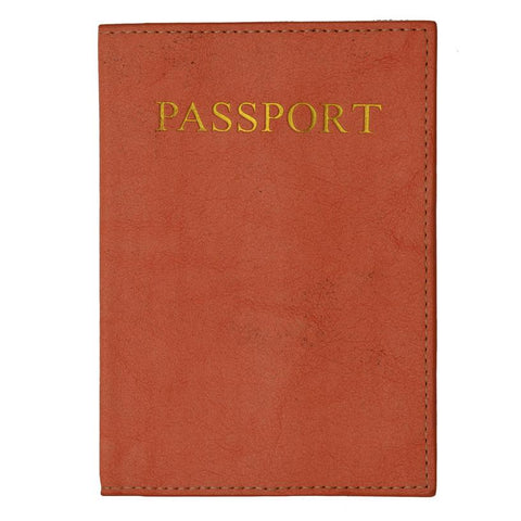 Passport Holder - Peach