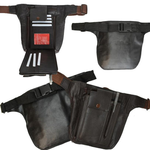 Leather Fanny Packs